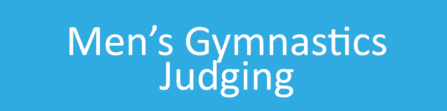 Men's  Gymnastics Judging