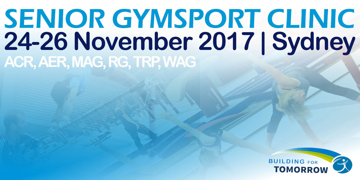 Gymnastics NSW 2017 Senior Gymsport Clinic