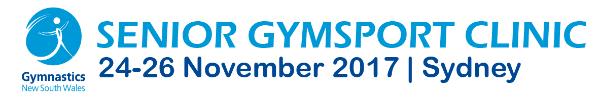 Gymnastics NSW | Senior Gymsport Clinic